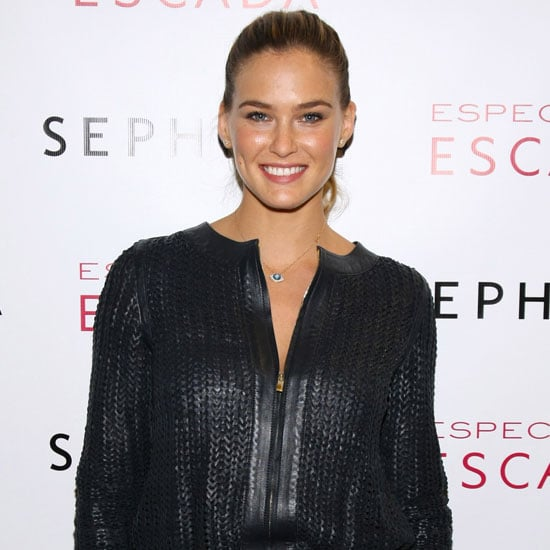 Bar Refaeli Shows Her Abs in Leather Pants Pictures