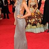 Chrissy Teigen and John Legend at the Met Gala 2014