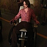 X-Men: Days of Future Past director Bryan Singer tweeted a picture of James McAvoy, aka Professor X, in serious '70s style. Source: Twitter user BryanSinger