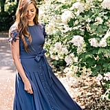 Gal Meets Glam Collection Bette Pleated Midi Dress