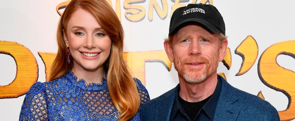 Bryce Dallas Howard Looks Beautiful on the Red Carpet With Her Famous Father, Ron