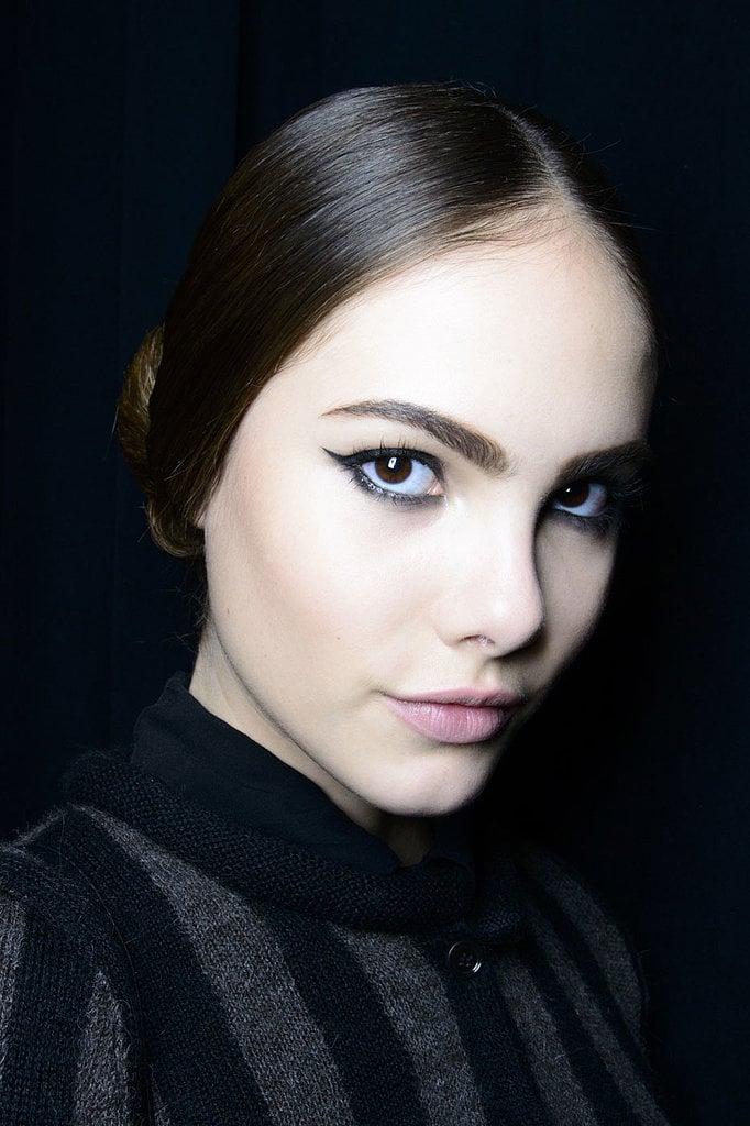 Bold Eyebrows Trend at Fall 2014 New York Fashion Week