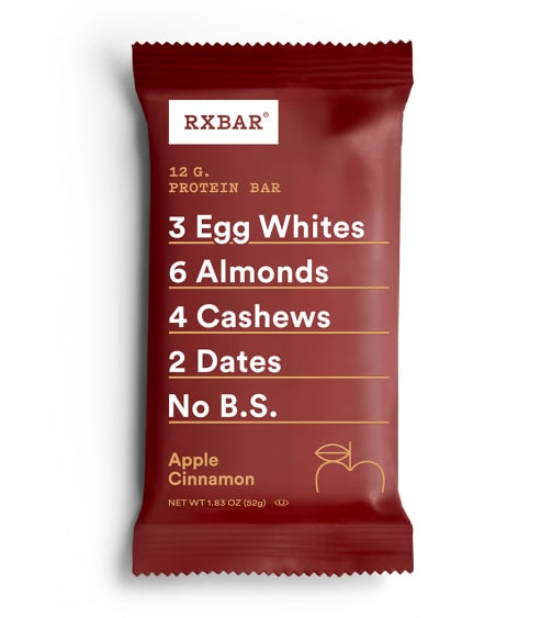 RXBAR Whole Food Protein Bar, Apple Cinnamon