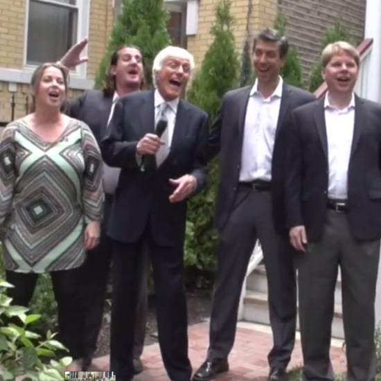 "Dick Van Dyke Singing ""Let's Go Fly a Kite"" June 2016"
