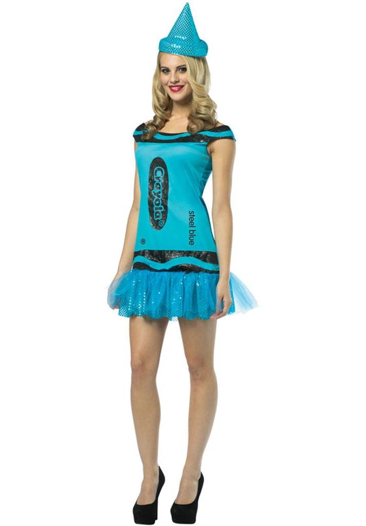 Steel Blue Crayola Costume