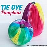 Tie-Dyed Pumpkins