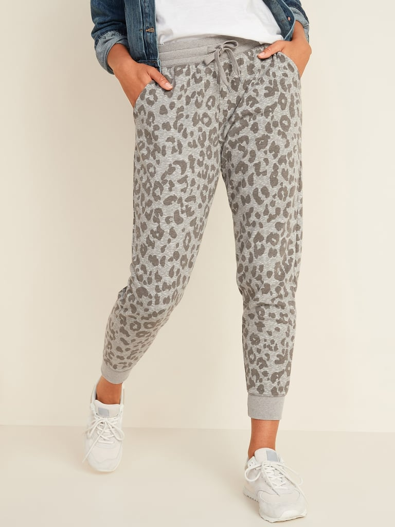 Old Navy Mid-Rise Tapered-Leg Jogger Pants