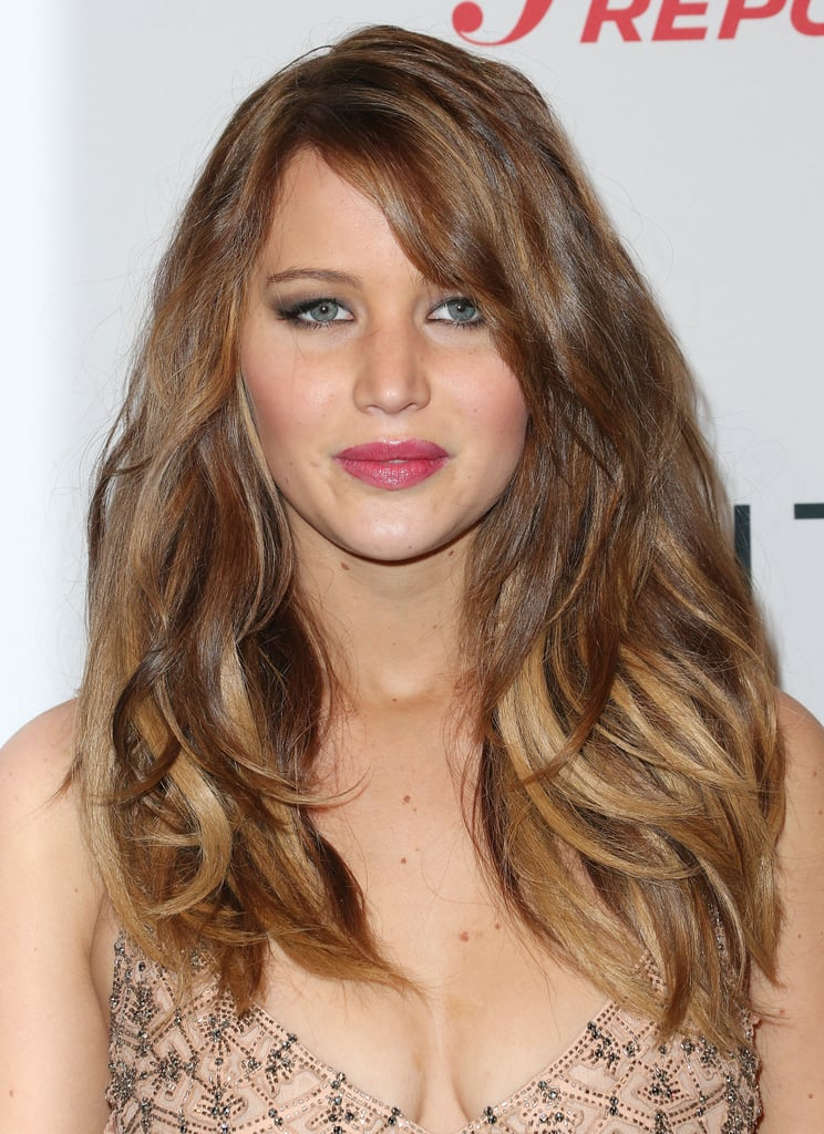 Jennifer Lawrence walked the carpet at the event.
