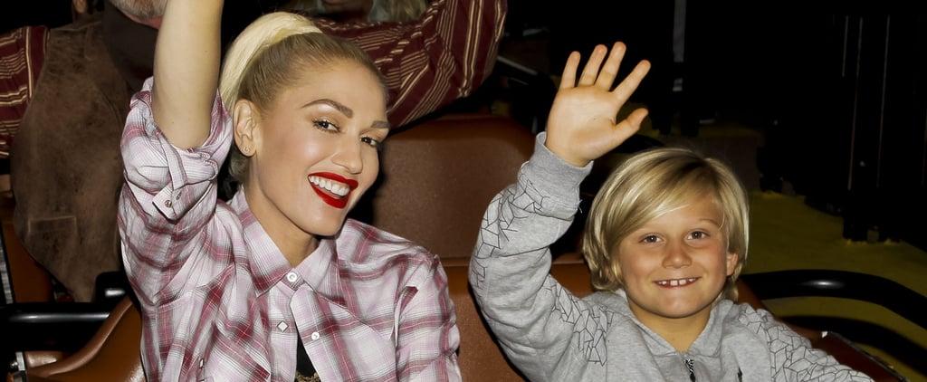 Gwen Stefani's Son Zuma's Birthday Video 2016