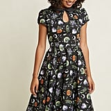 Hell Bunny Tender Loving Scare A-Line Midi Dress