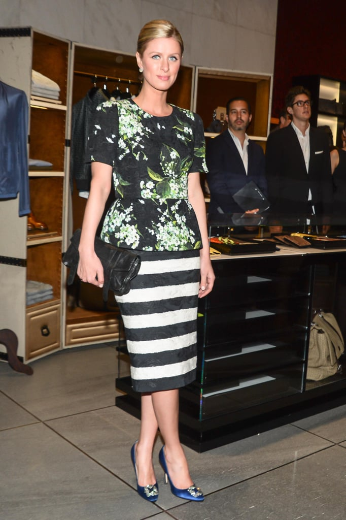 Nicky Hilton at the opening of Dolce & Gabbana's Fifth Avenue boutique. Matteo Prandoni/BFAnyc.com