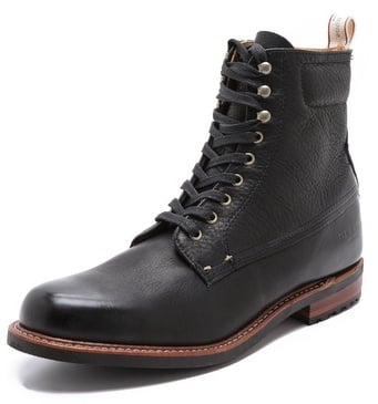 Rag & Bone Officer Lace Up Boots ($395)