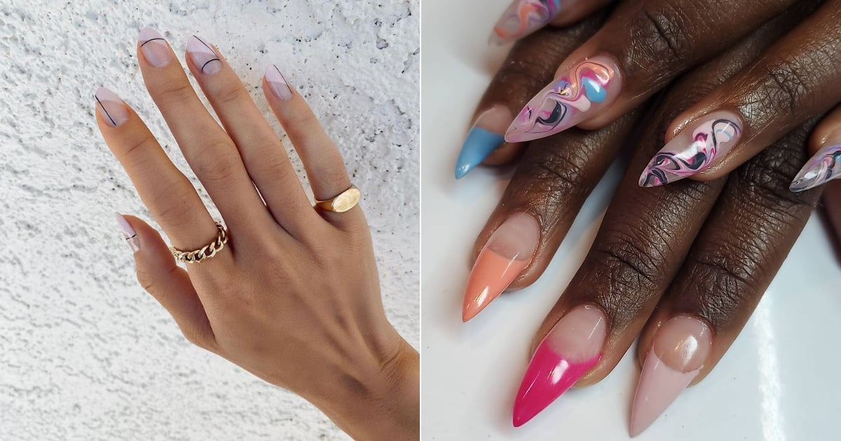 19 Nail-Art Designs That Grow Out Nicely, Because Getting to the Nail Salon Is Hard