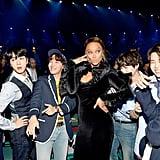 تايرا بانكس وفرقة BTS