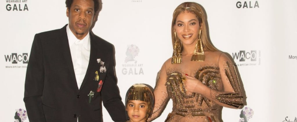 Beyoncé Just Twinned With Blue Ivy in Showstopping Gold Gowns