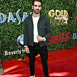 Nyle DiMarco at the 2020 Gold Meets Golden Party in LA