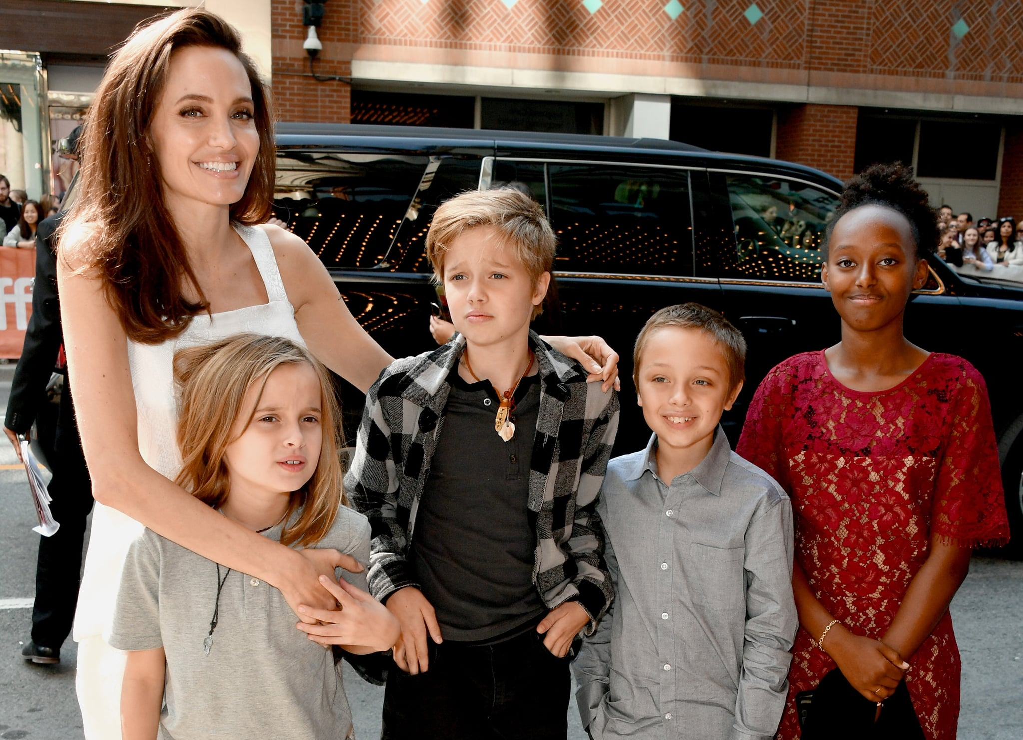 how old are brad pitt and angelina jolies kids