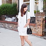 Pairing them with a simple summer dress is a great way to achieve the look without looking OTT.