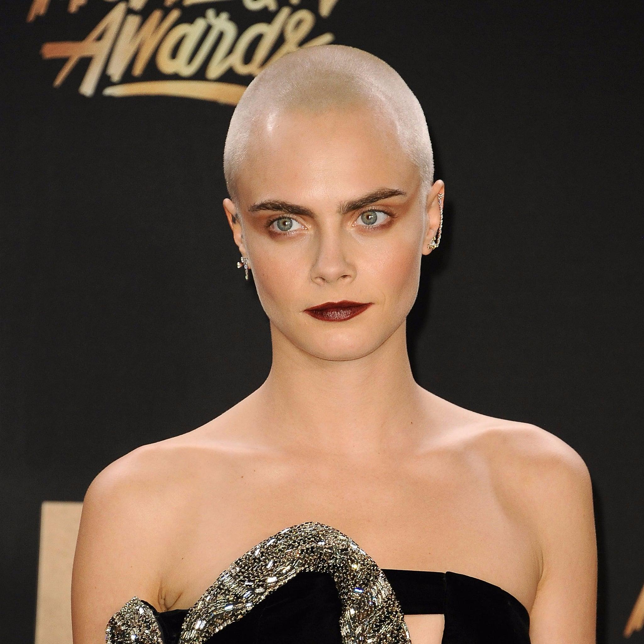 Cara Delevingne Hair Transformation Popsugar Beauty Australia