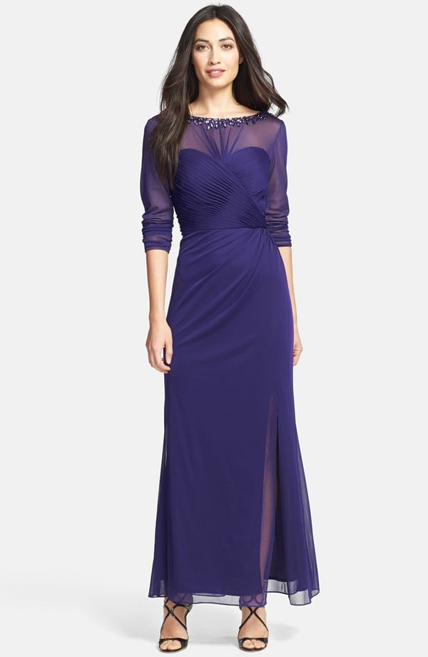 Alex Evenings Embellished Gown