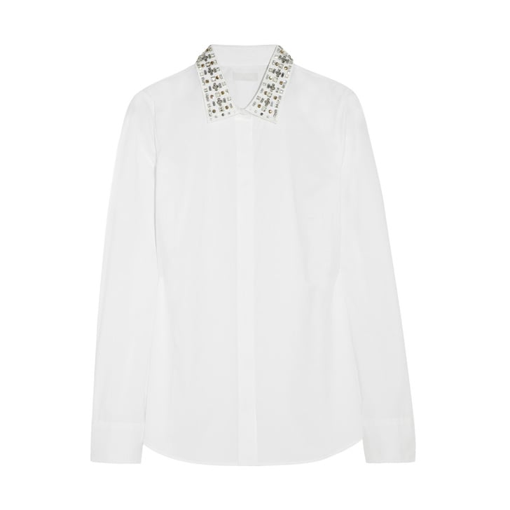 Cotton and Crystal J.Crew Blouse ($148)