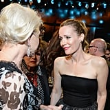 Pictured: Helen Mirren and Leslie Mann