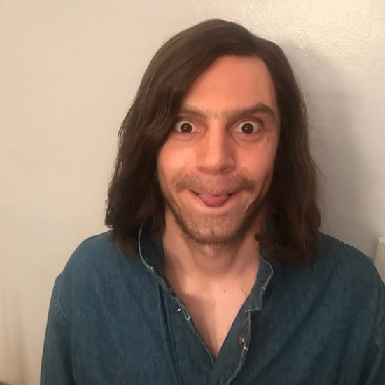 Evan Peters as Charles Manson Photo in American Horror Story
