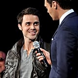 Ryan Seacrest welcomed Kris Allen back to the show.