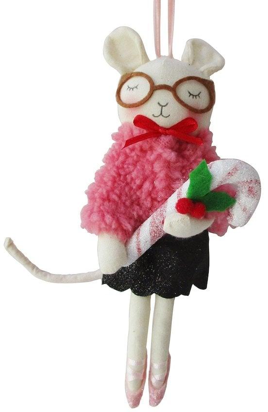 Lauren Conrad Ballerina Mouse Christmas Ornament