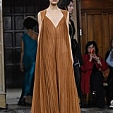 We'd love to see her in this gorgeous empire dress from the Vionnet runway.