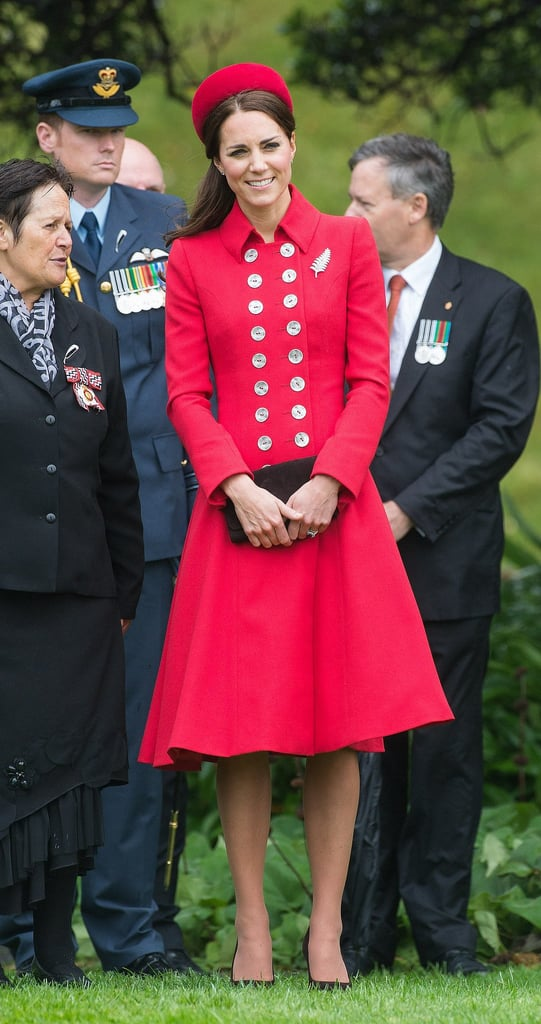 Kate Middleton at New Zealand's Government House in 2014