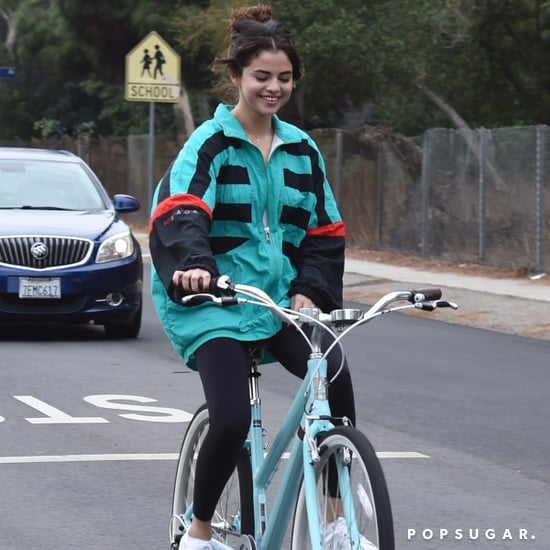 Selena Gomez Wearing The Weeknd's Jacket