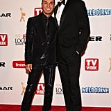Anthony Callea and Tim Campbell, April 2013