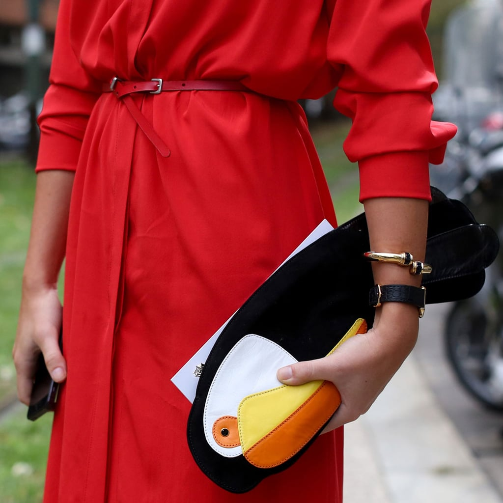 We Have Serious Accessory Envy, Thanks to the These Milan Showgoers
