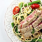 Spiralized Tuna Nicoise Salad