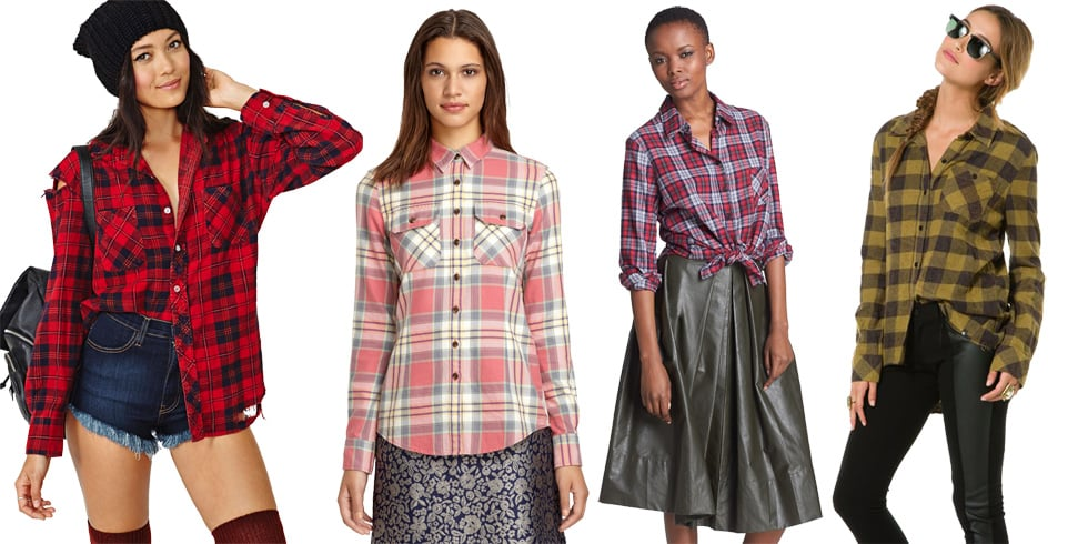 Women's Plaid Flannel Shirts