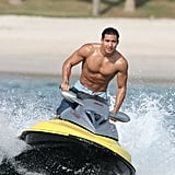 Shirtless Pictures of Mario Lopez