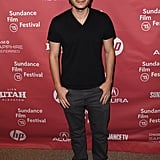 Emile Hirsch posed for pictures at the Ten Thousand Saints premiere.