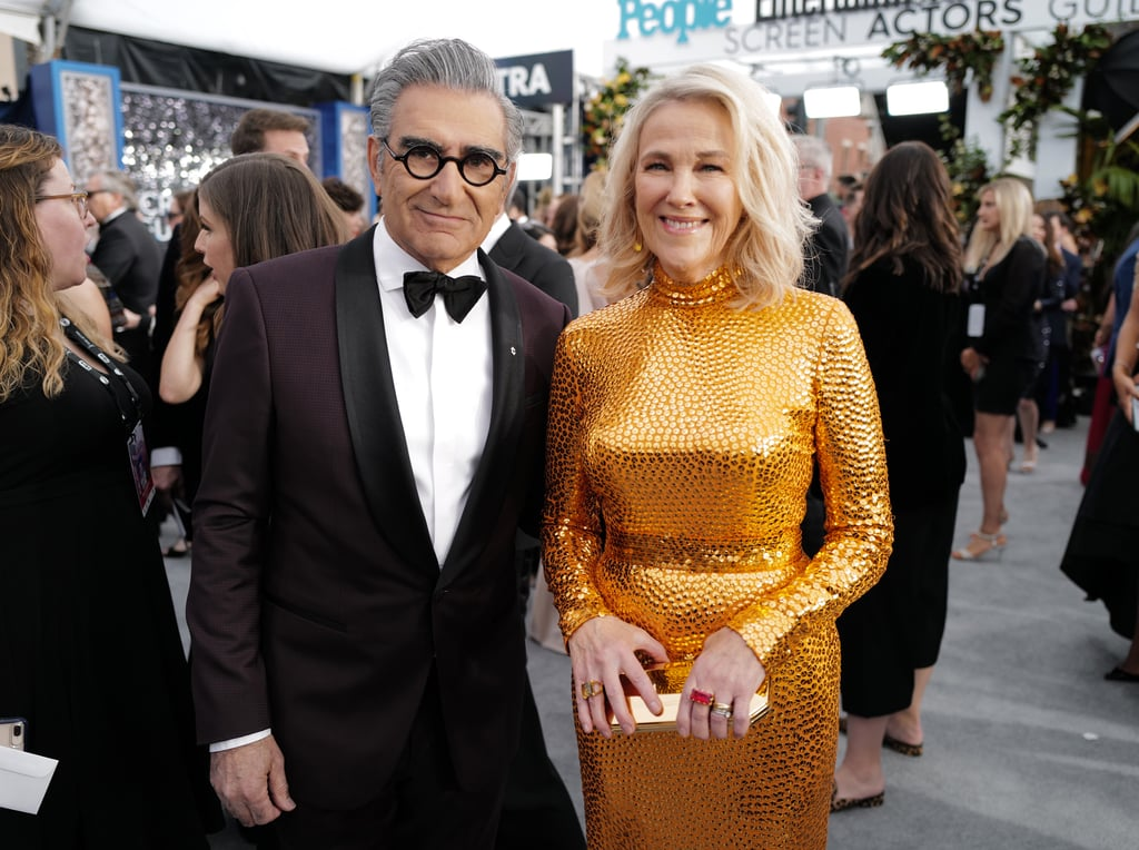 Catherine O'Hara and Eugene Levy's Friendship Quotes