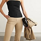 The Row Kriza Strapless Stretch-Jersey Top