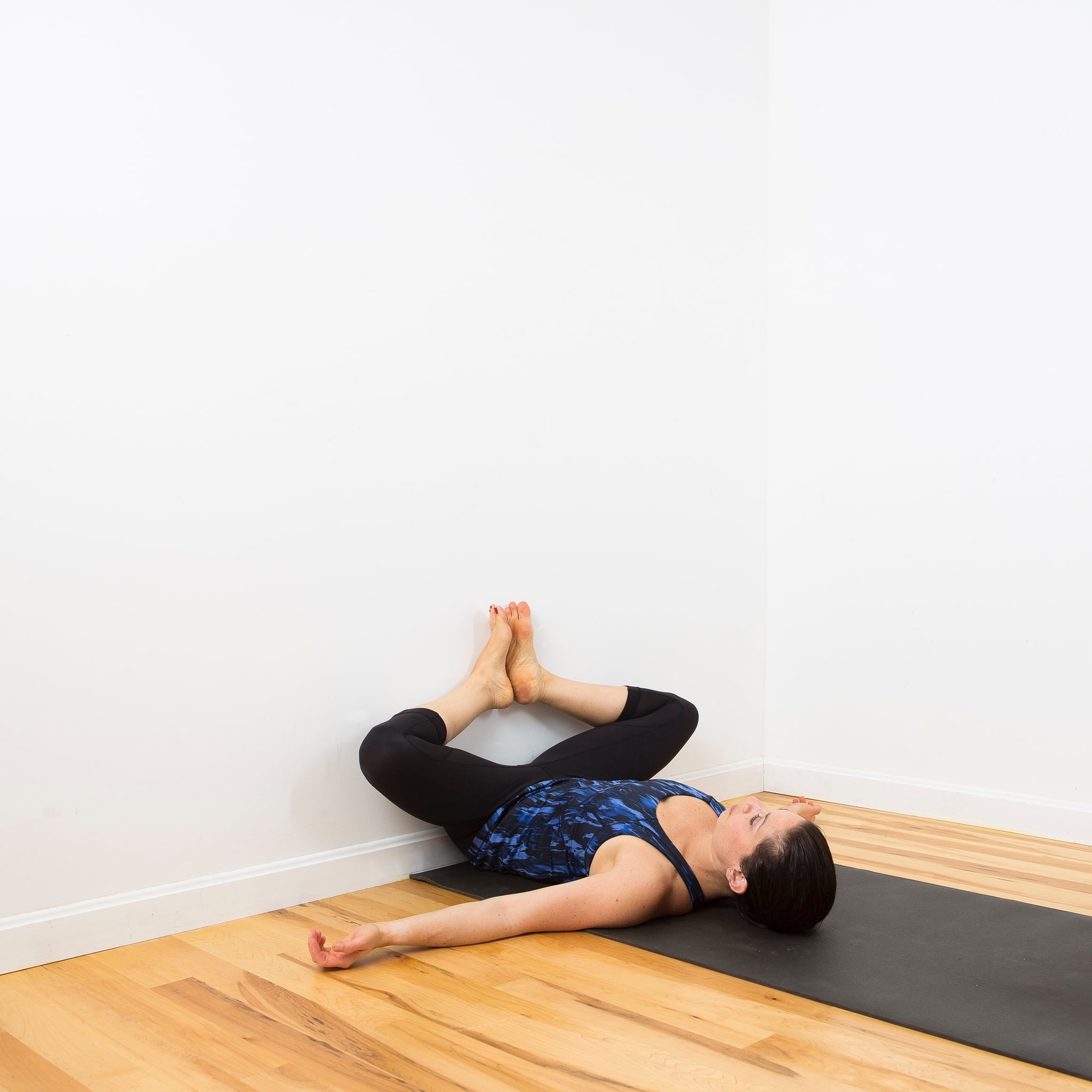 Do This Hip Opener Against the Wall, and You'll Never Do It on the Floor Again