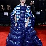Shailene Woodley at the British Fashion Awards 2019