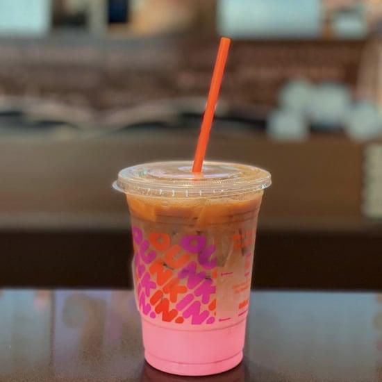 Dunkin' Donuts Pink Velvet Macchiato Review