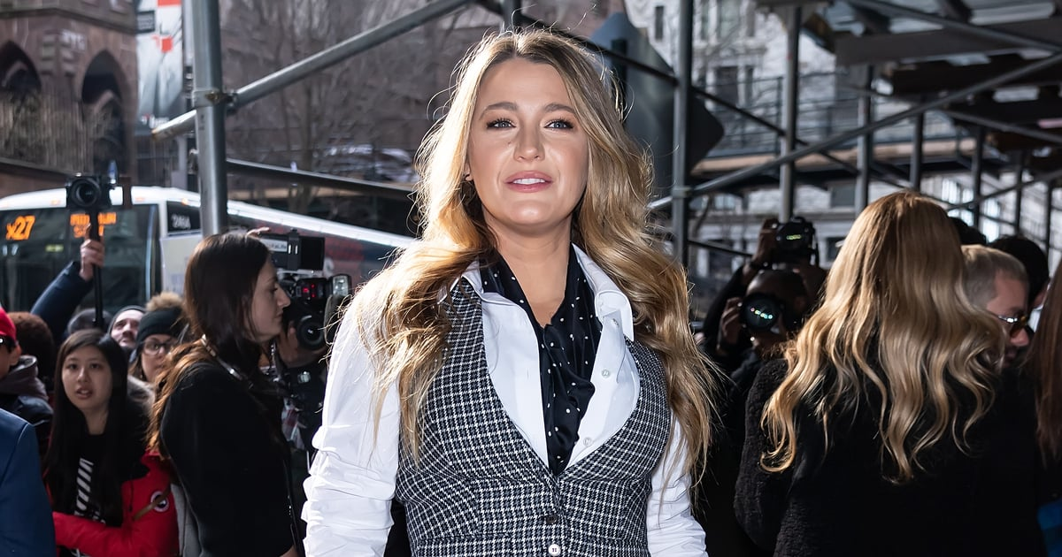 We're Pretty Sure Serena van der Woodsen Was the Inspiration For Blake Lively's New Manicure
