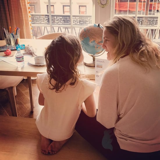 Drew Barrymore Working Mom Family Tips