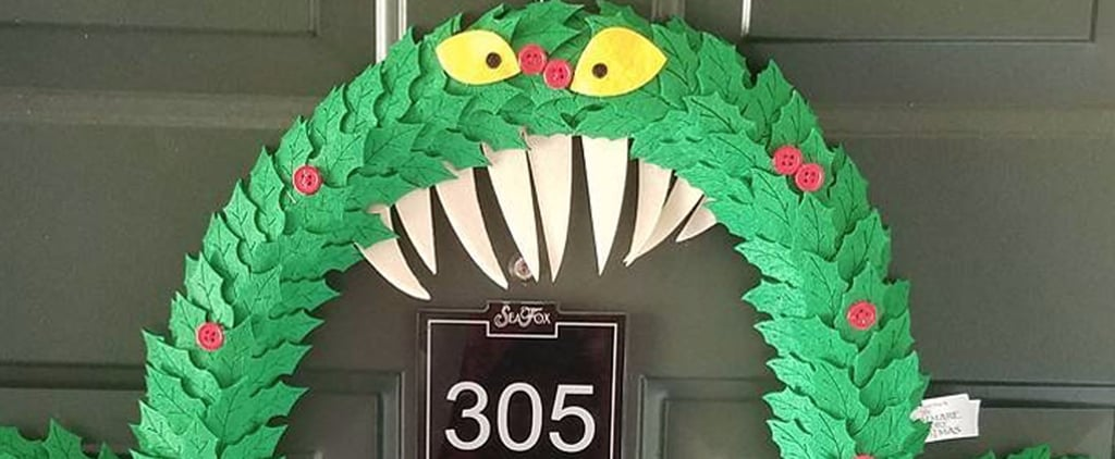 "Disney's Nightmare Before Christmas Wreath Will Make You Scream, ""This Is Halloween!"""