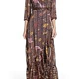 ba&sh Disy Pleated Maxi Dress