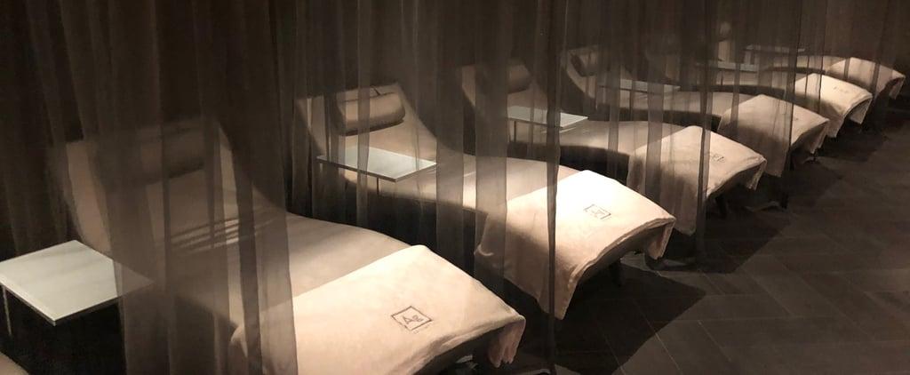 تقرير عن سبا أرغينتا في فندق ووترغيت الواقع بواشنطن العاصمة
