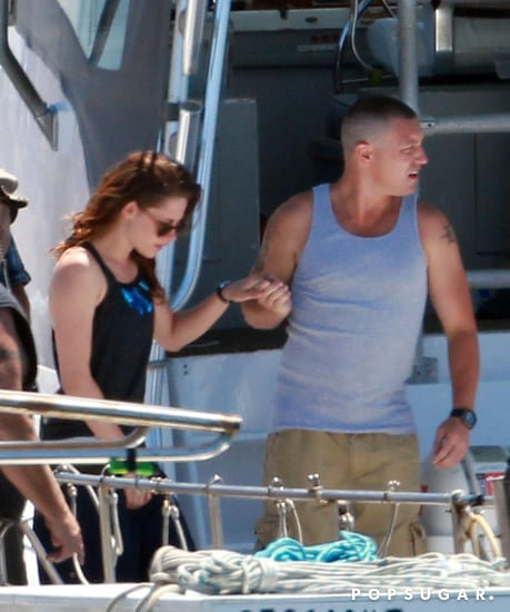 celebrityKristen-Stewart-Set-Pictures-From-Camp-X-Ray