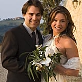 Rachael Ray wed John M. Cusimano in September 2005 in Italy.